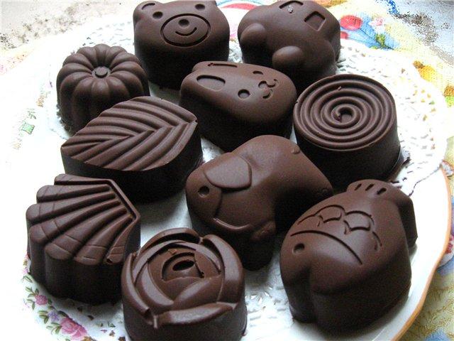 Как сделать в домашних условиях шоколадных конфет